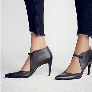 free people cerow spanish leather heels high ankle